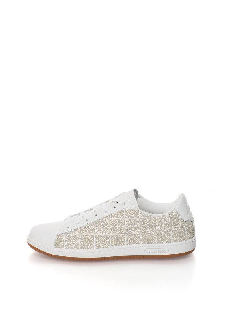 Pantofi sport albi de piele Arthur Ashe