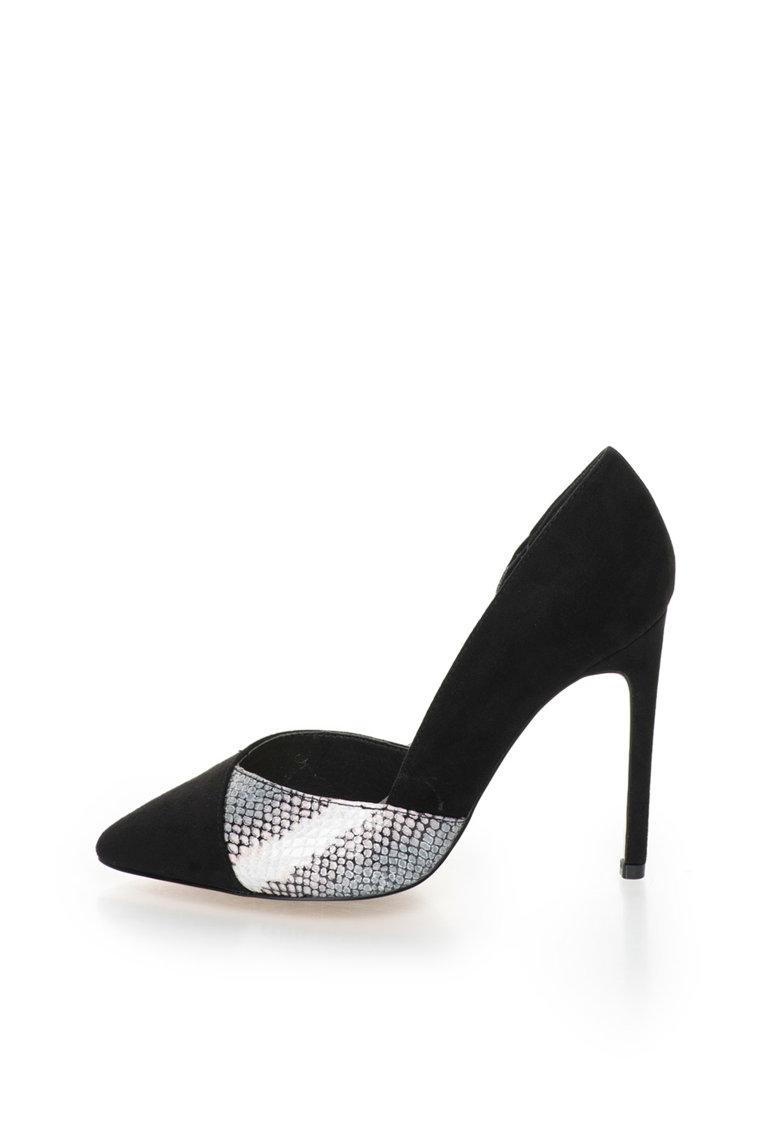 Blink Pantofi D'Orsay cu garnitura cu model sarpe