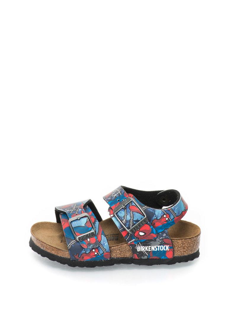 Sandale cu imprimeu Spiderman New York de la Birkenstock
