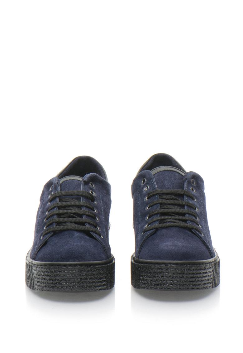 Zee Lane Pantofi flatform de piele intoarsa Liberty