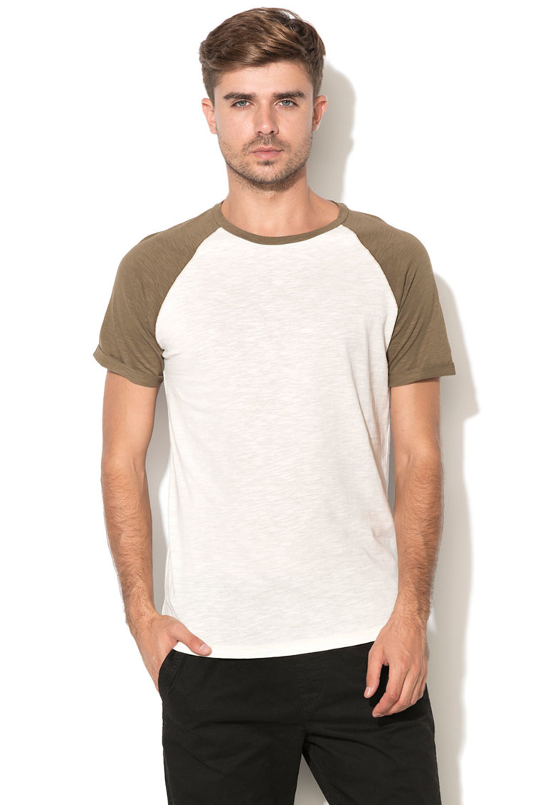 JackJones Jack & Jones – Tricou slim fit cu maneci raglan John