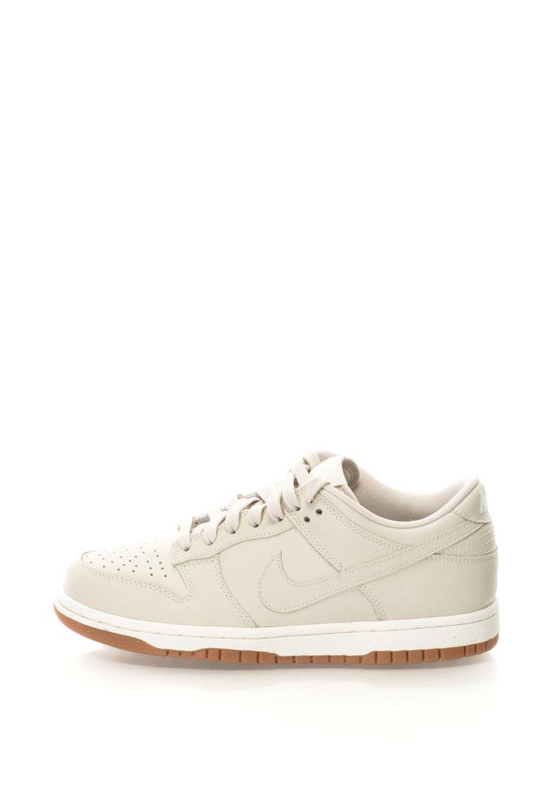 Nike Pantofi sport de piele Dunk Low