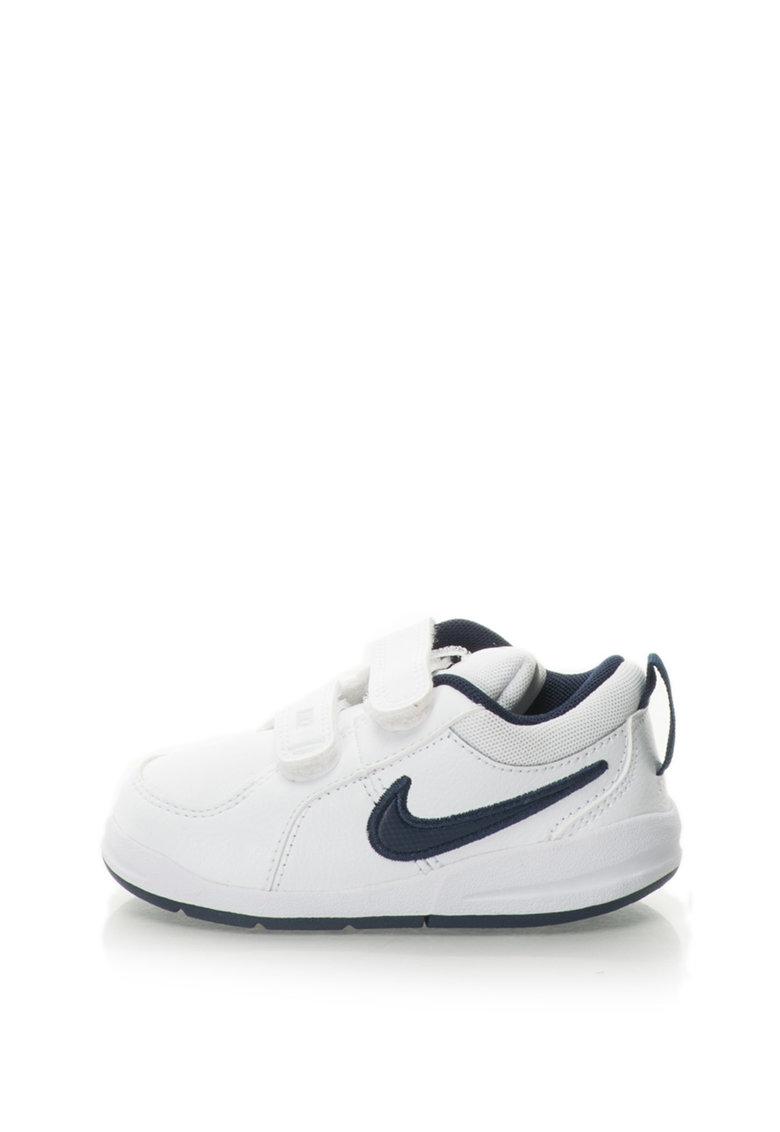 Nike Pantofi sport de piele cu aplicatie logo Pico 4