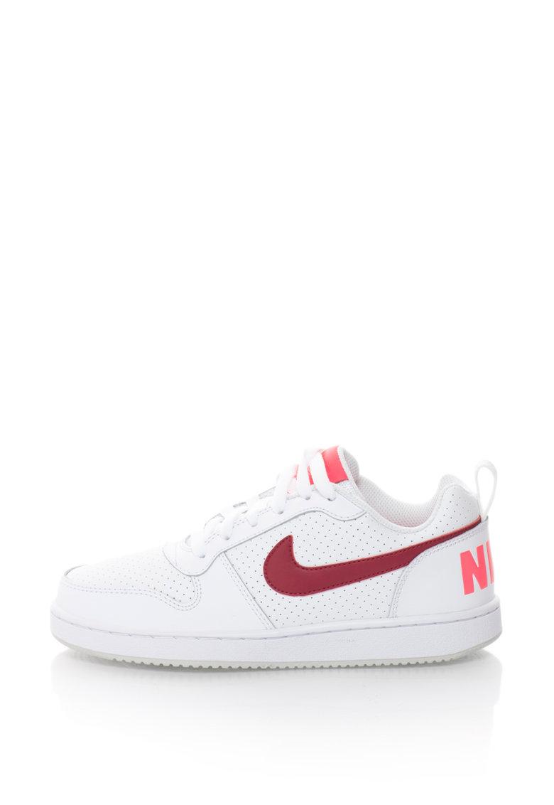 Pantofi sport de piele Court Borough Low de la Nike – 844905-101