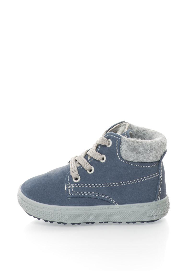 Pantofi sport de piele nabuc