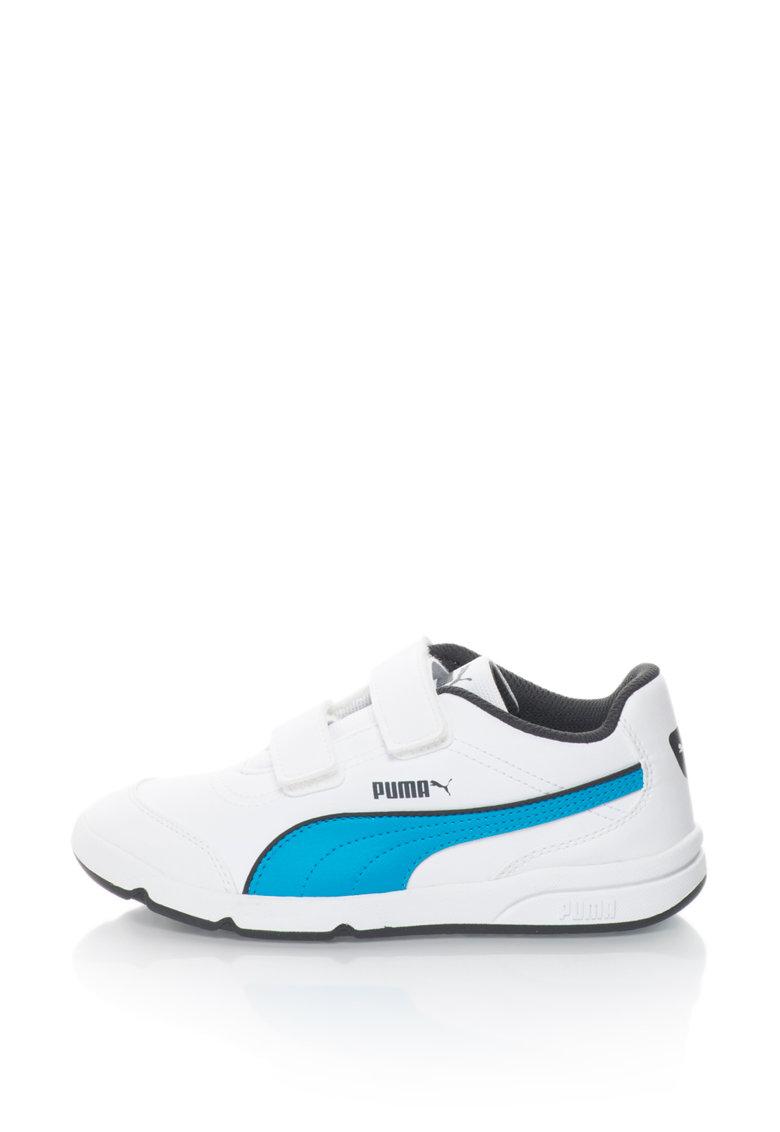 Puma Pantofi sport de piele sintetica Stepflex