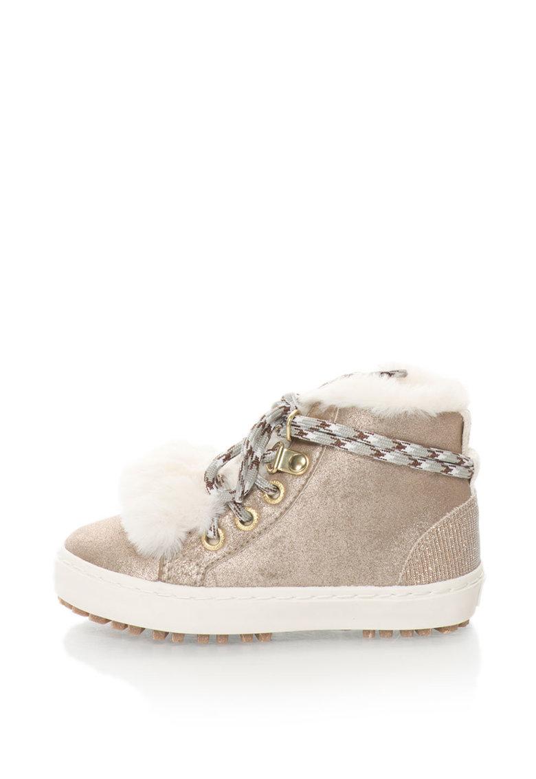 Gioseppo Pantofi sport inalti cu captuseala de blana sintetica