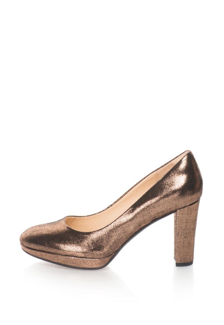Pantofi de piele cu toc inalt Kendra Sienna