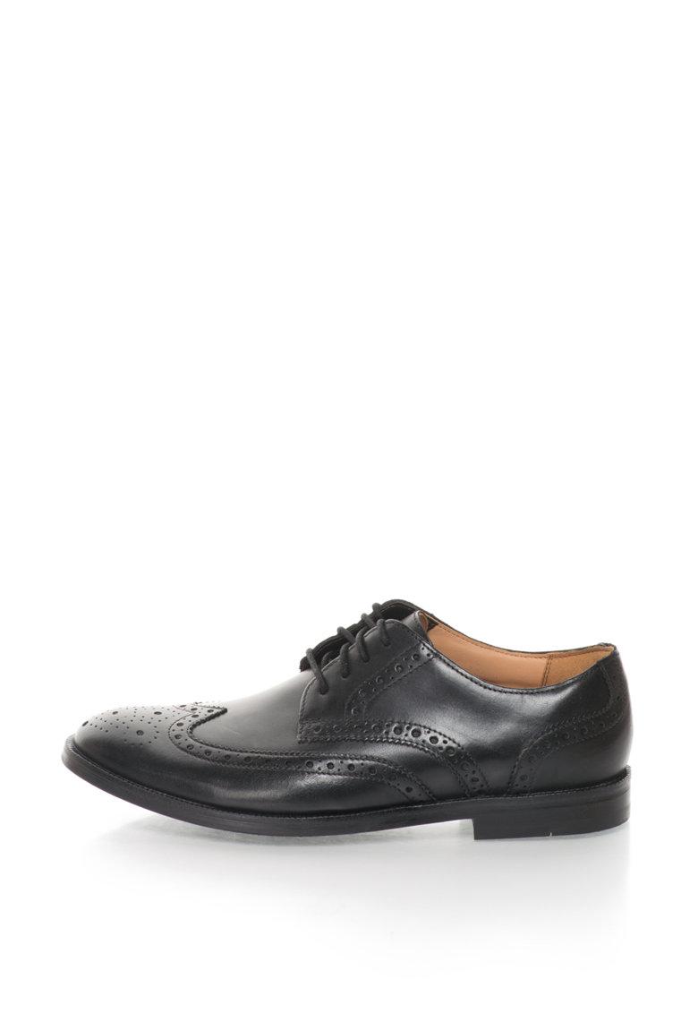Clarks Pantofi brogue de piele Broyd Limit