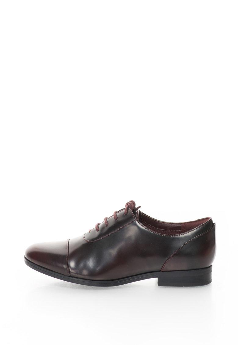 Clarks Pantofi de piele cu varf cap-toe Tilmont