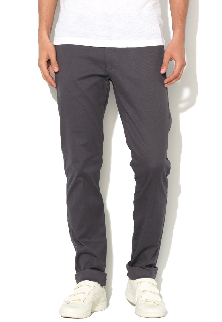 Pantaloni chino conici slim f de la United Colors Of Benetton