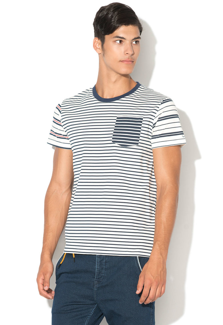 Pepe Jeans London Tricou cu dungi Warner