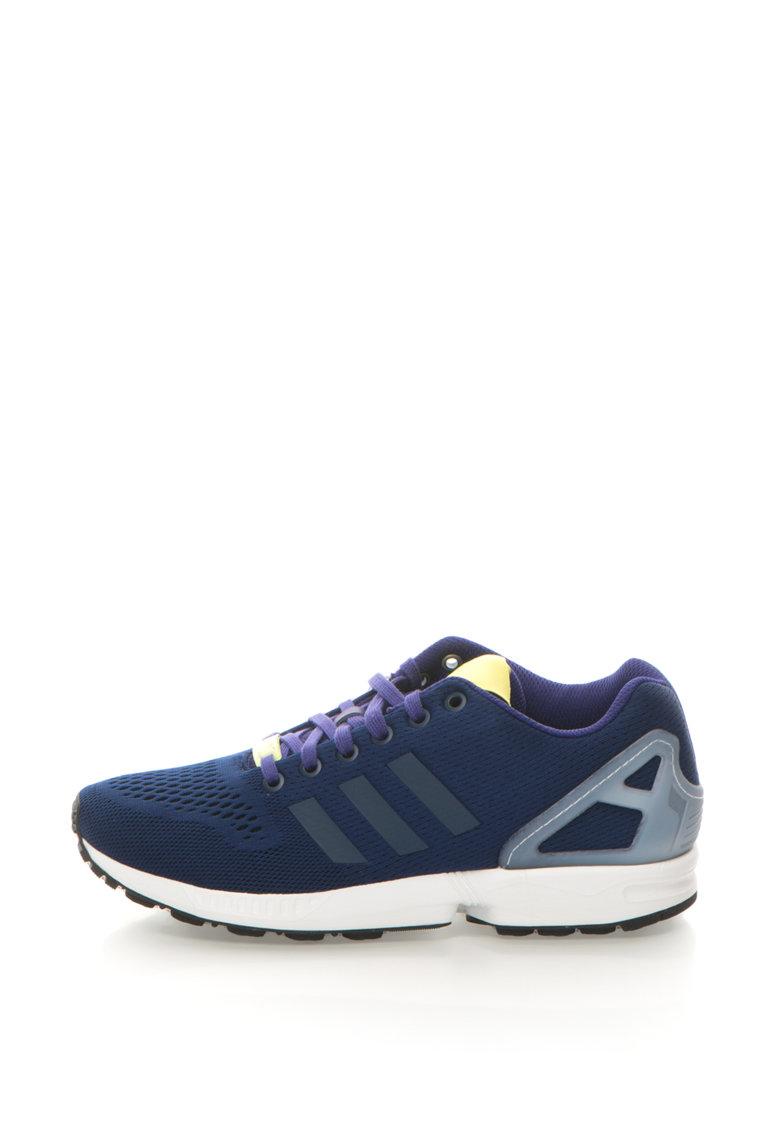 adidas Originals – Pantofi sport ZX Flux – Albastru inchis/Violet ametist