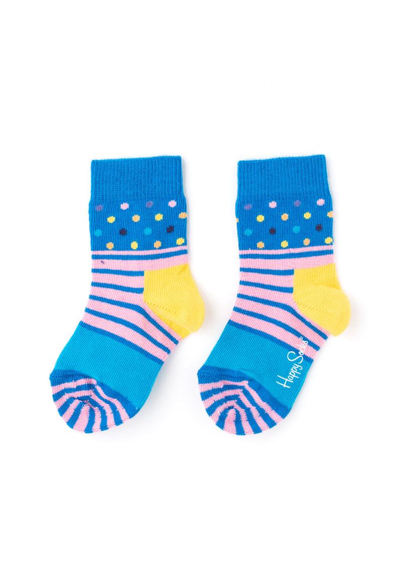 Happy Socks Sosete cu dungi si buline