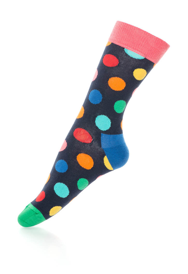 Happy Socks Sosete 3/4 cu buline – unisex