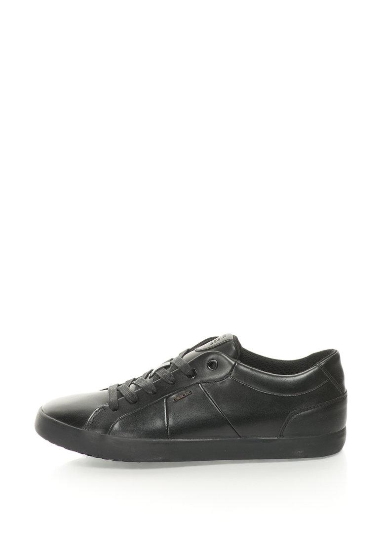 Geox Pantofi sport cu garnituri de piele Smart