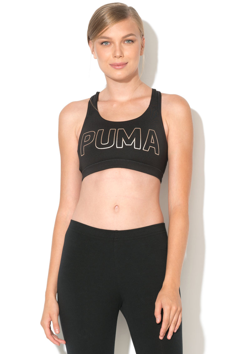 Bustier stramt cu logo Pwrshape Forever de la Puma
