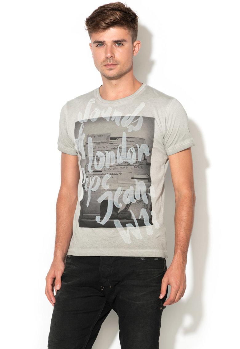 Tricou cu design grafic Morden de la Pepe Jeans London – PM503854-905