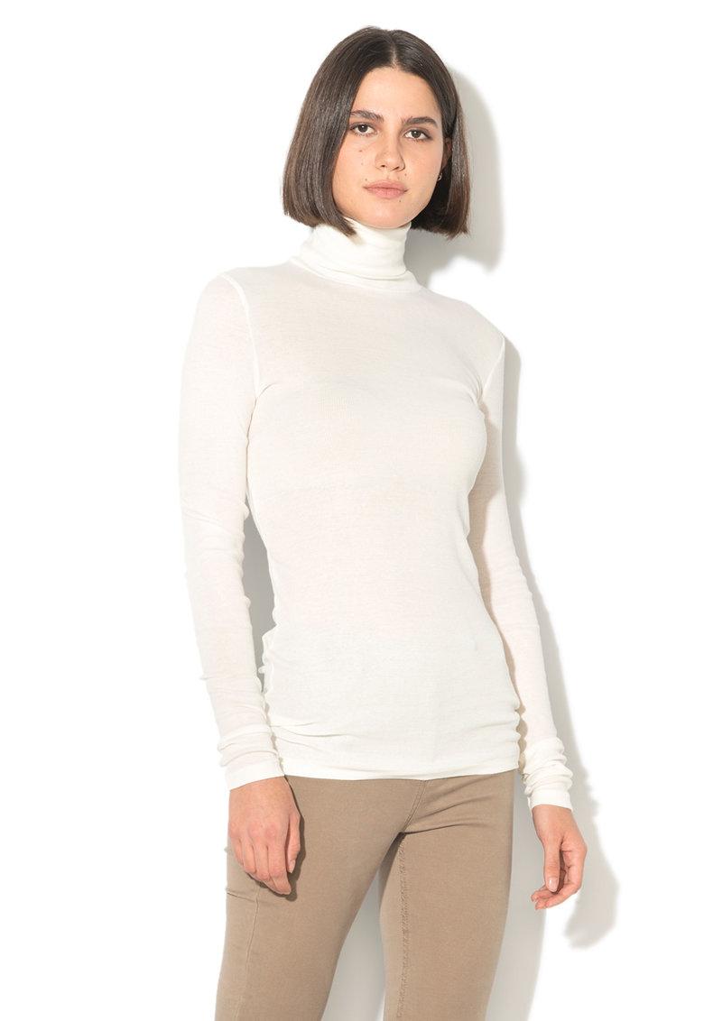 Bluza lunga cu guler inalt de la United Colors Of Benetton