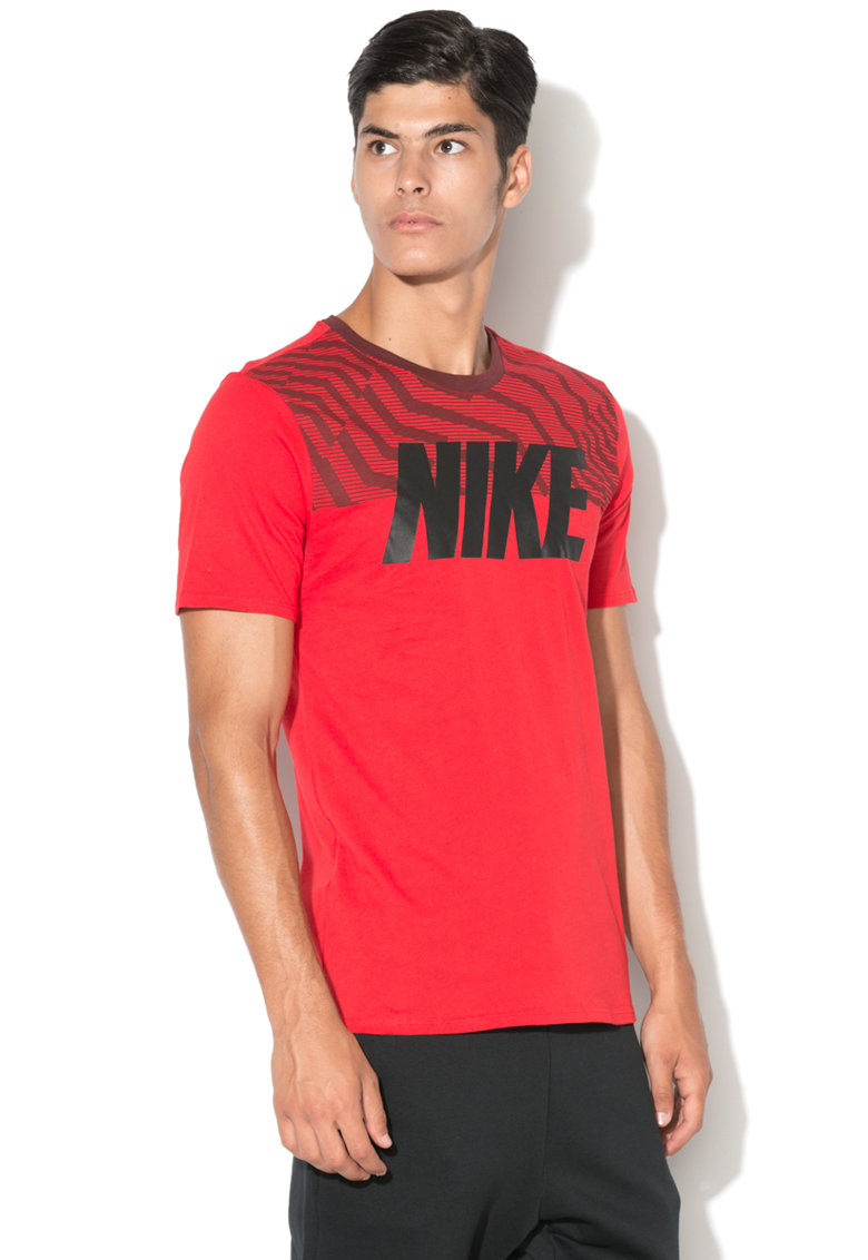 Nike Tricou cu logo Athletic Fit