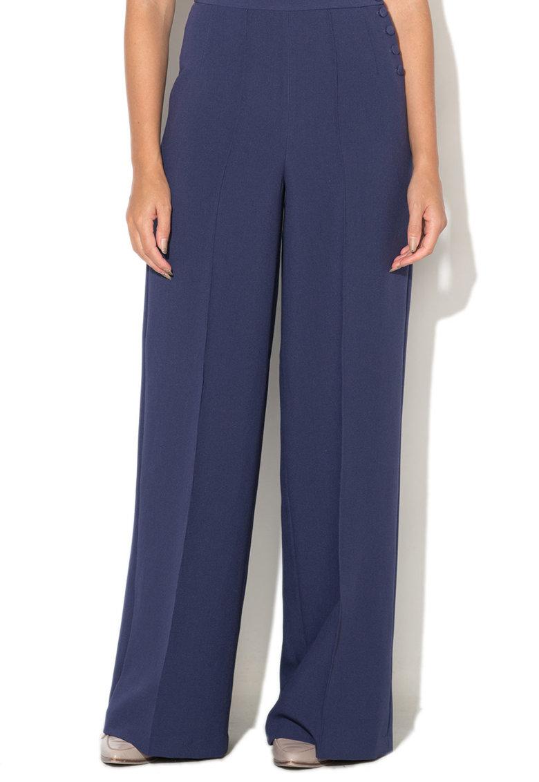 Pantaloni Eleganti Cu Croiala Ampla