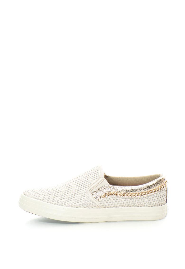 Pantofi slip-on tricotati de la Enrico Coveri