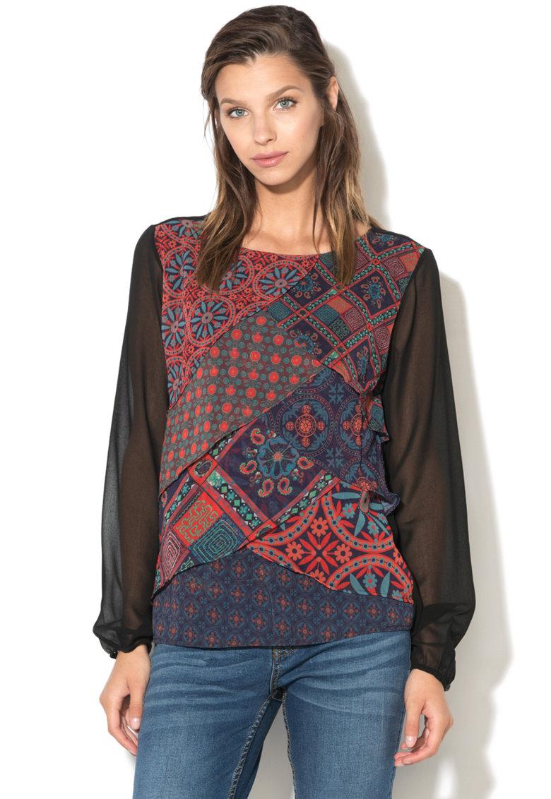 DESIGUAL Bluza cu design petrecut Birmania