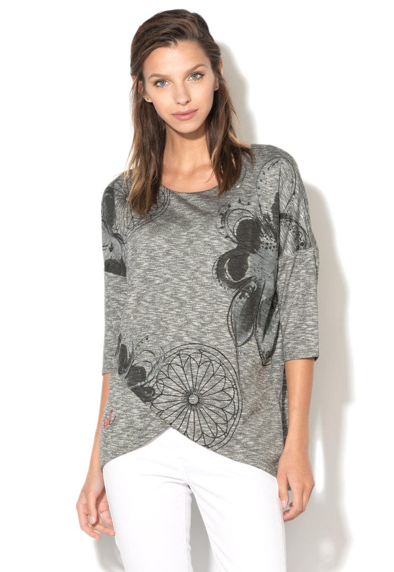 DESIGUAL Bluza petrecuta Olivia