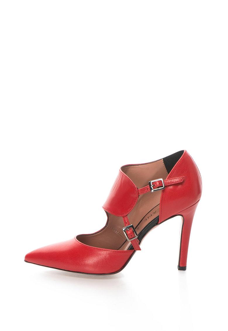 Zee Lane Pantofi de piele cu varf ascutit Anne