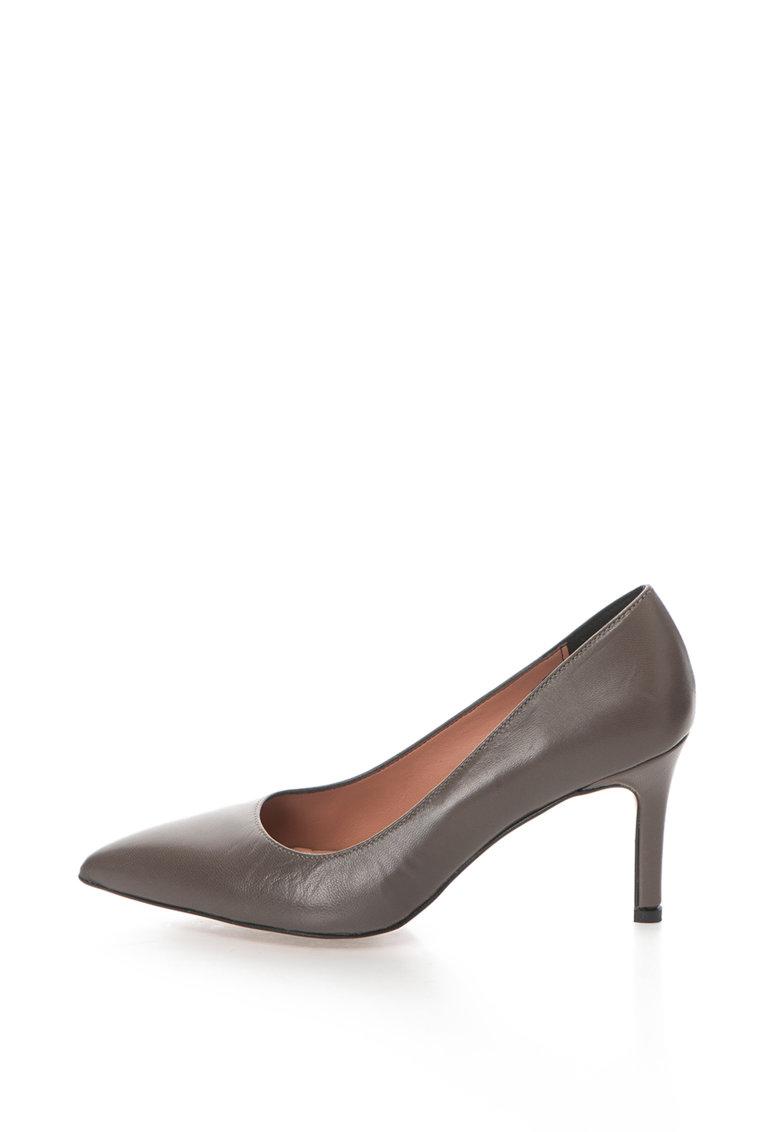 Zee Lane Pantofi de piele cu varf ascutit Raffy