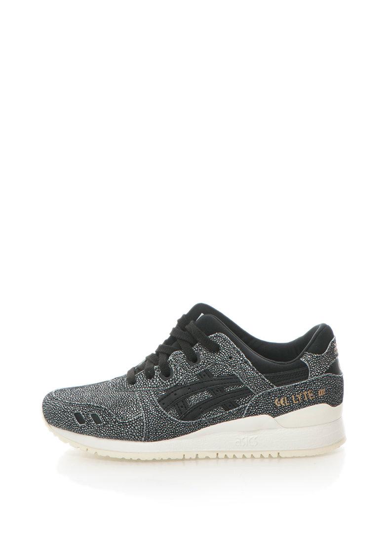 Pantofi sport de piele intoarsa si piele Gel-Lyte III