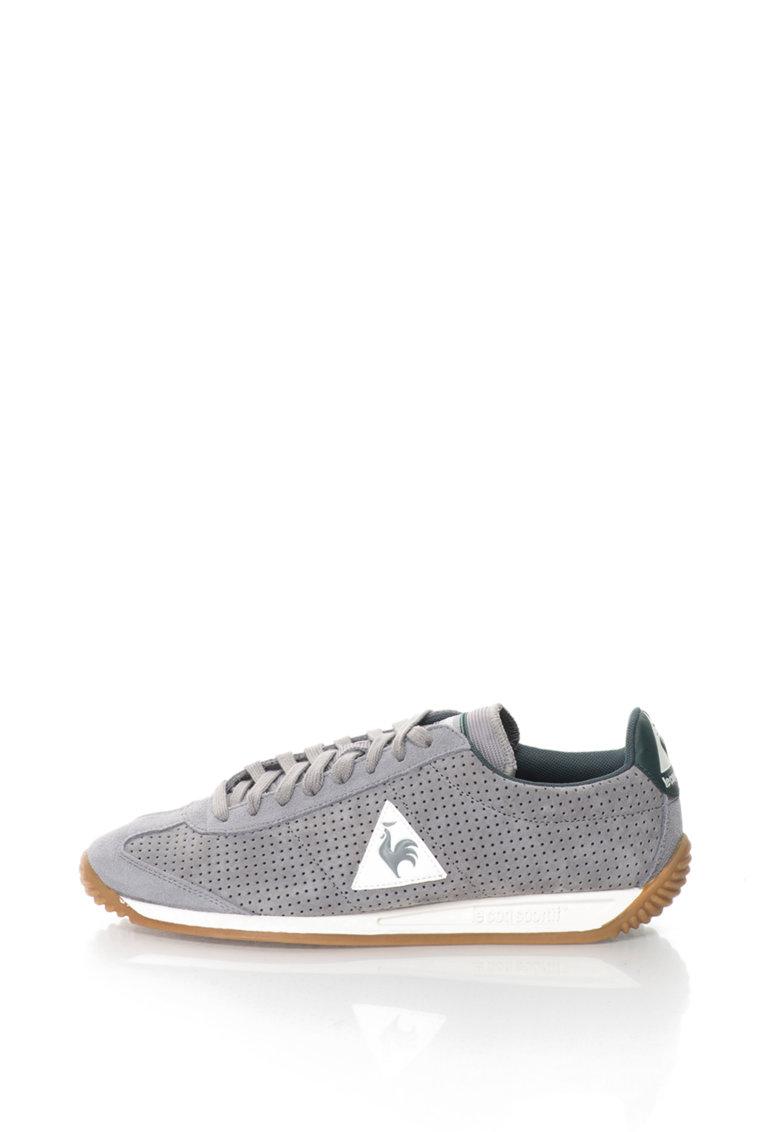Le Coq Sportif Pantofi sport cu piele intoarsa Quartz