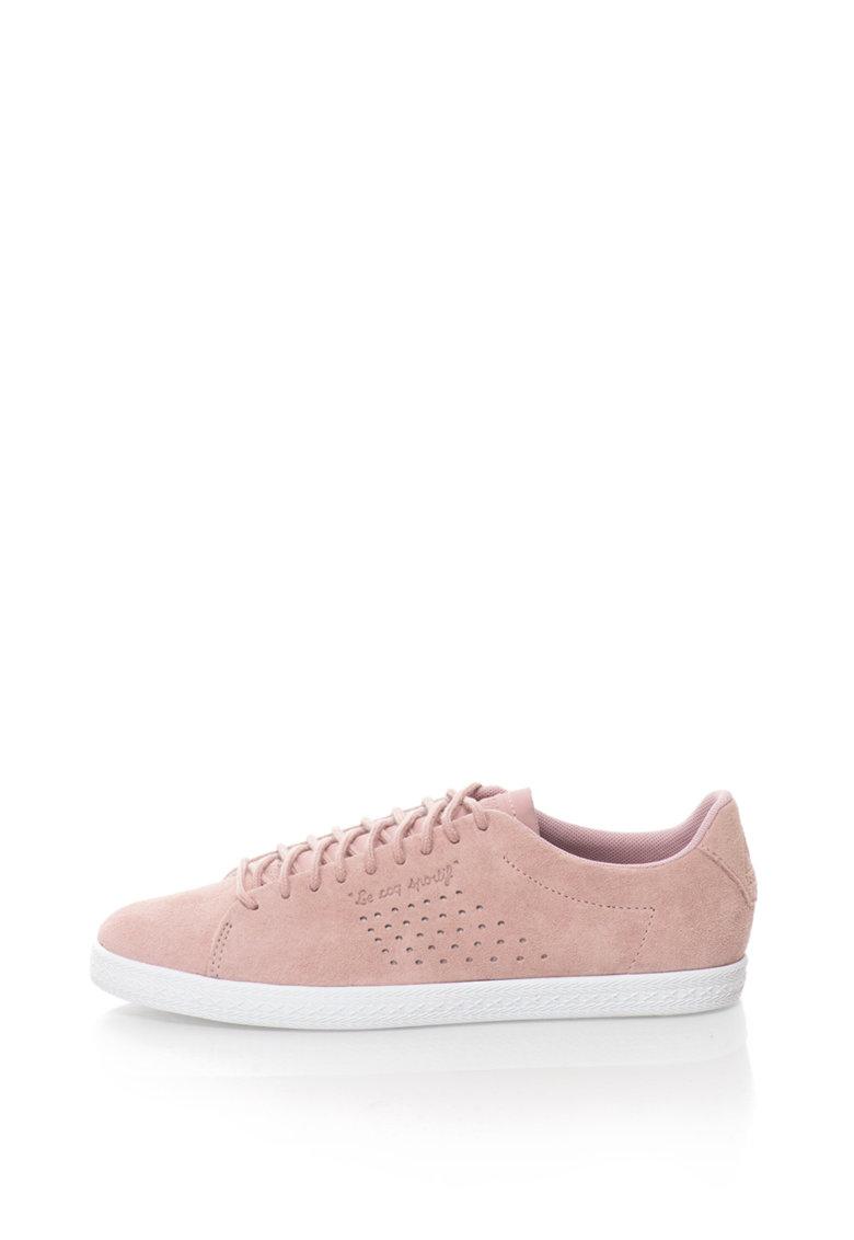 Le Coq Sportif Pantofi sport de piele nabuc Charline