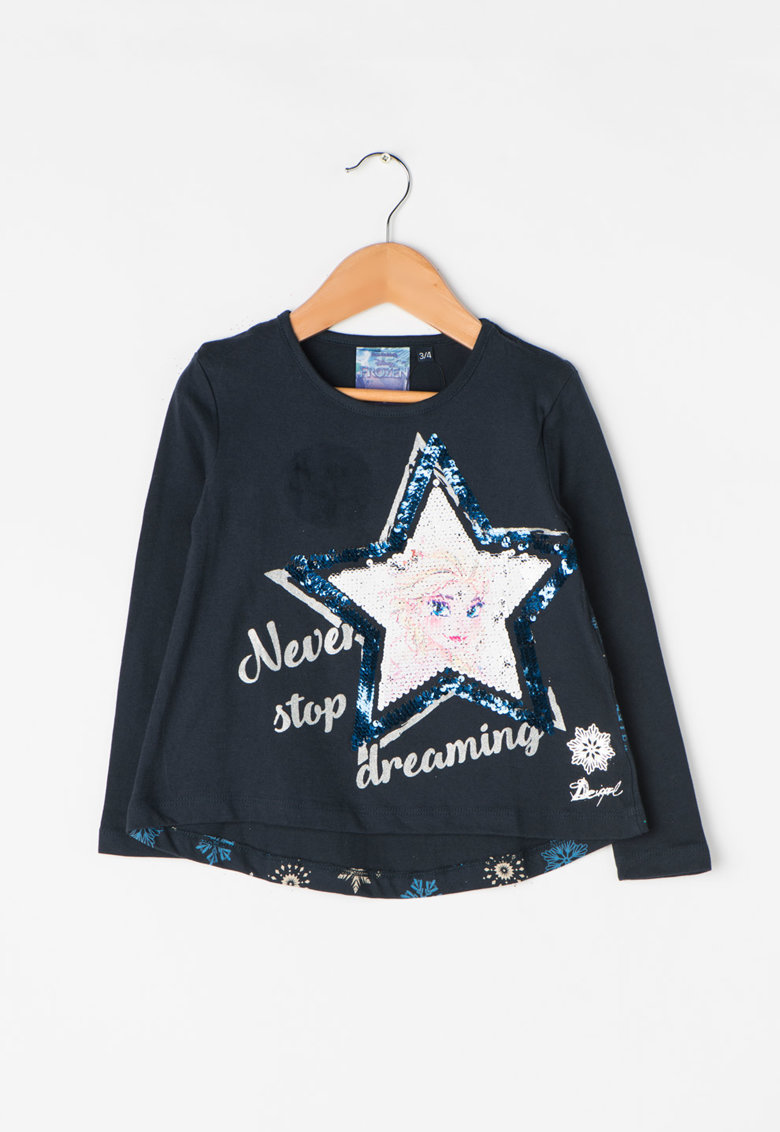 DESIGUAL Bluza cu design cu paiete reversibile Sacramento