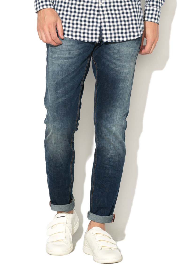 Zee Lane Denim Blugi cu aspect decolorat