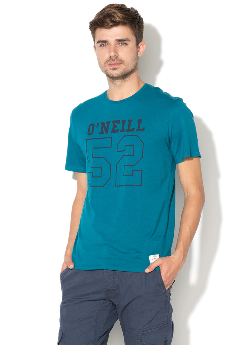 Tricou regular fit cu imprimeu logo