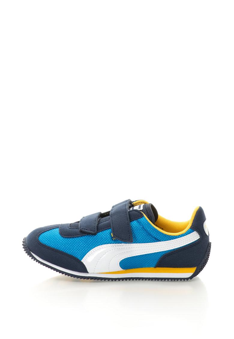Puma Pantofi sport cu velcro si insertii de plasa Whirlwind