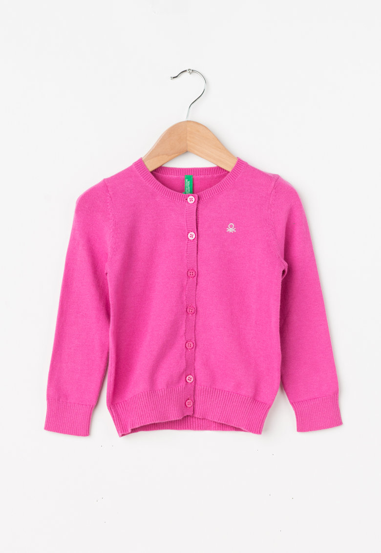 United Colors of Benetton Cardigan tricotat fin cu nasturi