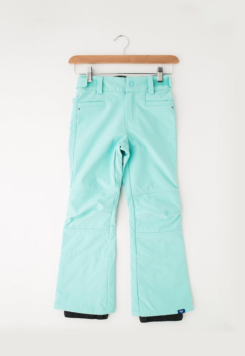 Pantaloni skinny fit impermeabili cu talie ajustabila pentru sporturi de iarna