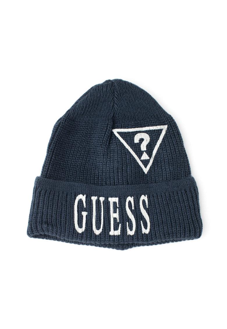 Guess Caciula tricotata cu logo