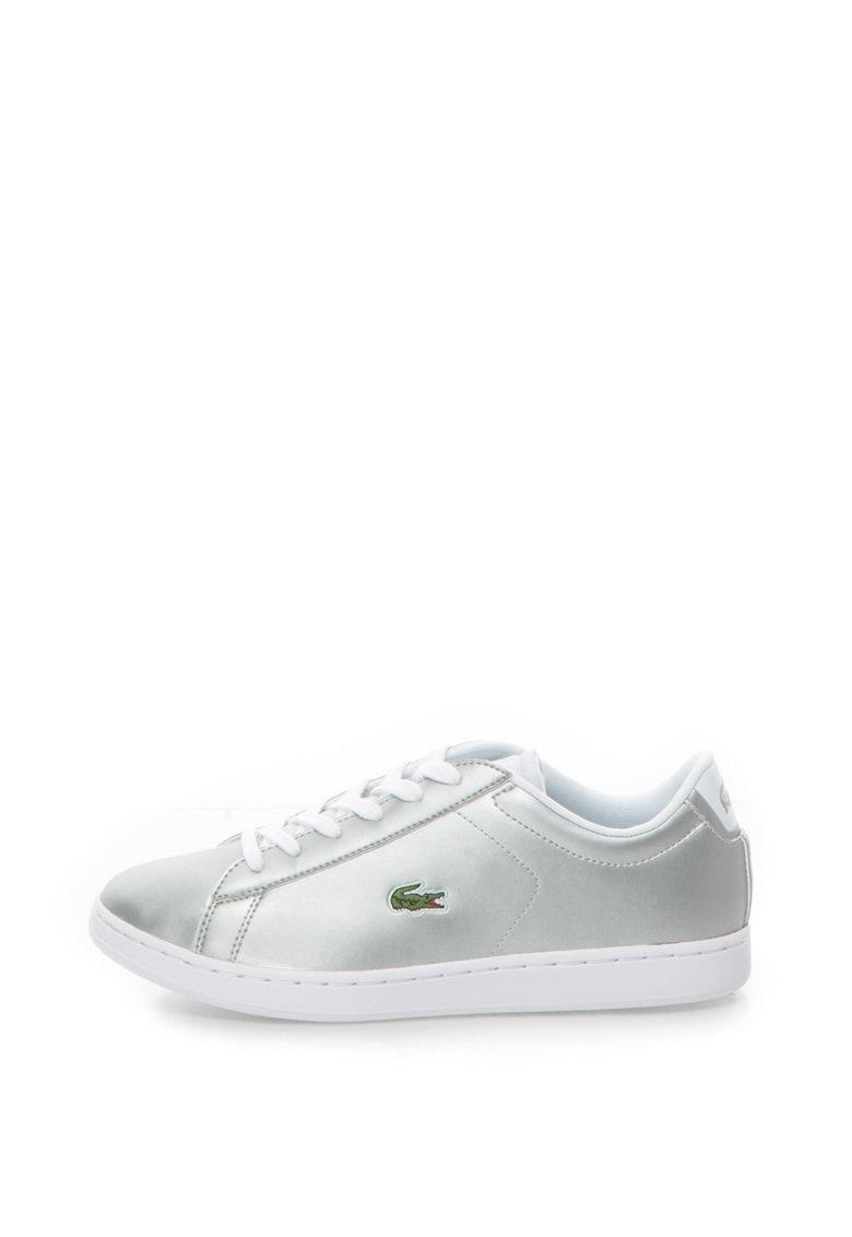 Lacoste Pantofi sport din piele sintetica cu logo Carnaby