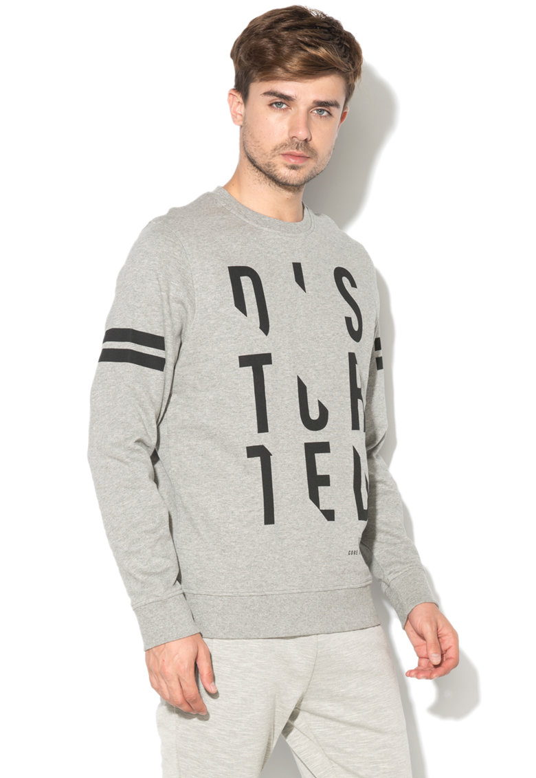 JackJones Bluza sport regular fit cu imprimeu text Slice