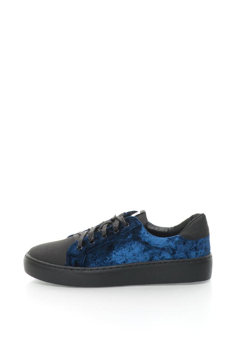 Fiorucci Pantofi sport de catifea
