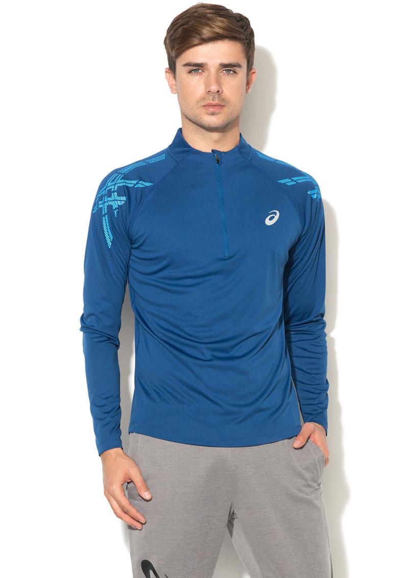 Bluza cu fermoar scurt pentru alergare de la Asics