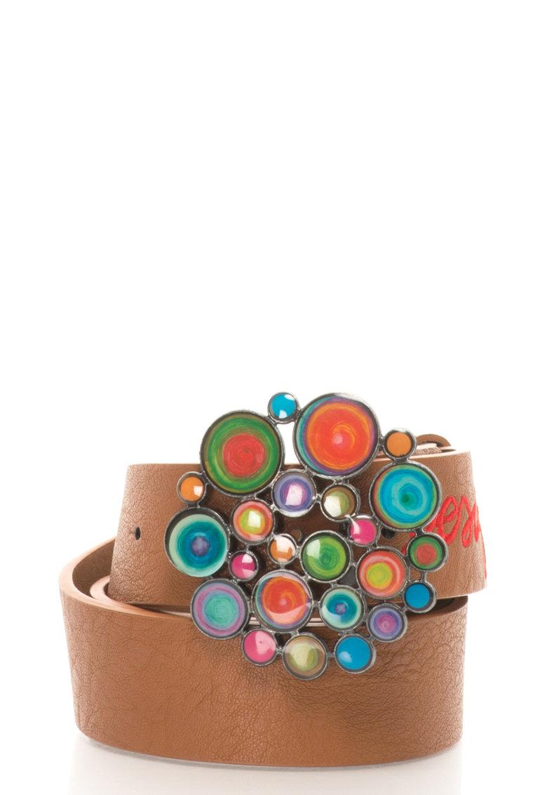 DESIGUAL Curea cu catarama cu decoratiuni Carry