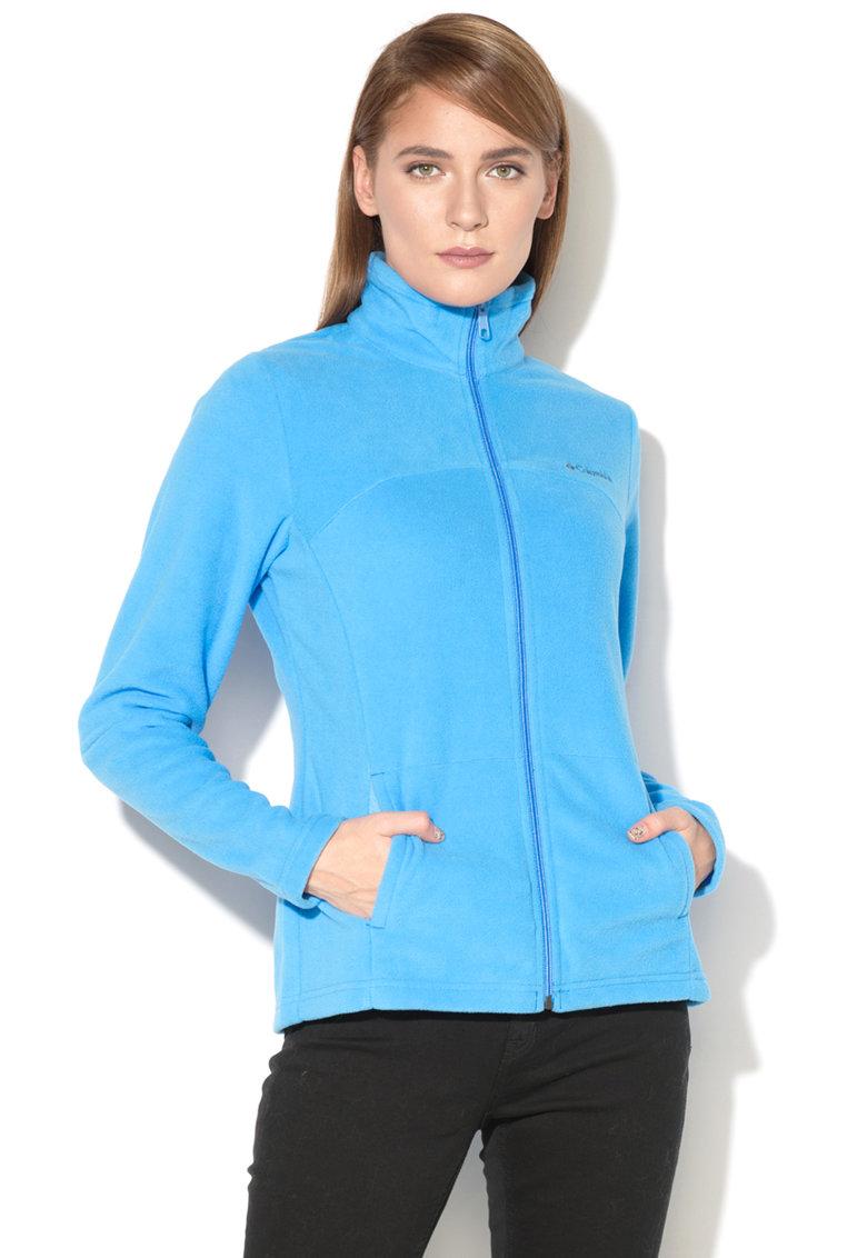 Columbia Bluza sport din fleece cu fermoar si logo Western Ridge