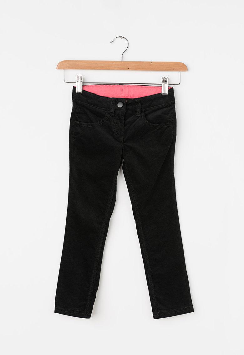 Pantaloni din material reiat de la United Colors of Benetton