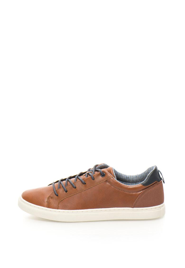 ATHLETIC Pantofi sport de piele sintetica cu design perforat King