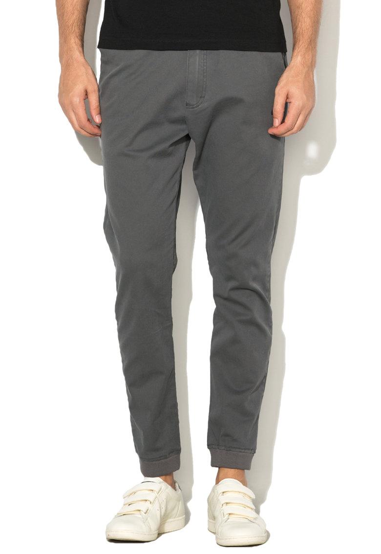 Pantaloni chino cu snur pentru ajustare de la Le Coq Sportif
