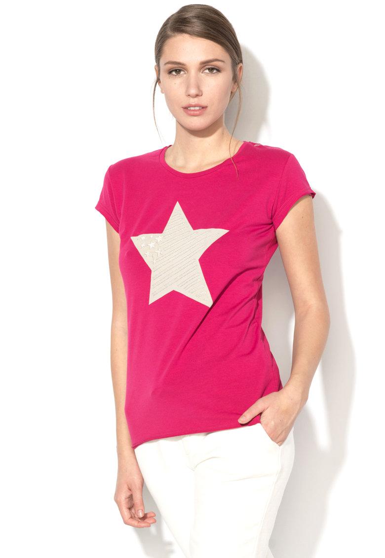 Tricou cu imprimeu stea de la US Polo Assn